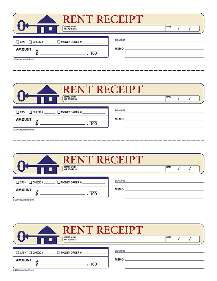 rent receipt template 10 free word excel templates demplates