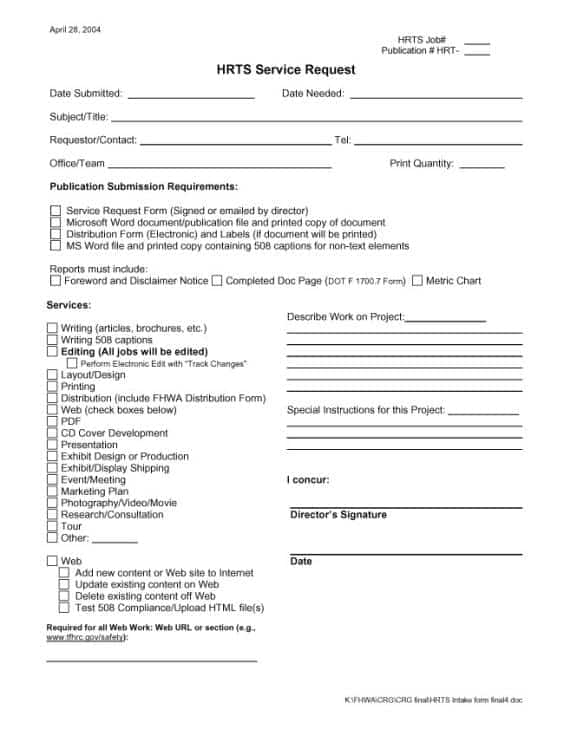 Sample Request Forms. Charitable-Donation-Request-Form Sample