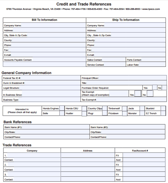 trade-reference-template-365 Vendor Reference Form Examples on vendor letter example, vendor form template, vendor table example,