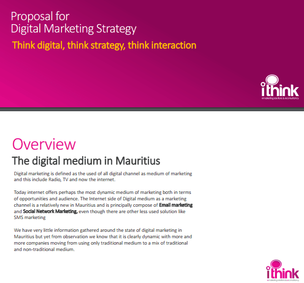 4  digital marketing proposal templates
