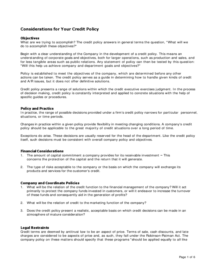 Cash Management Policy Template from www.wordexcelsample.com