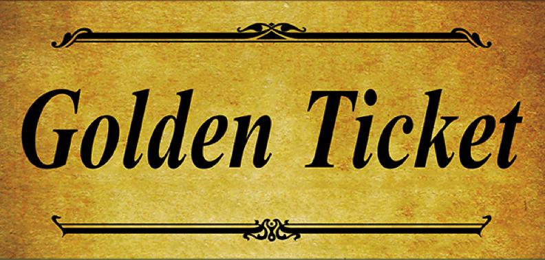 6  golden ticket templates