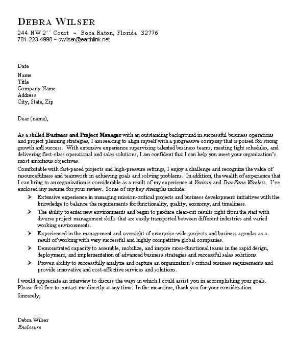 business cover letter templates are added here
