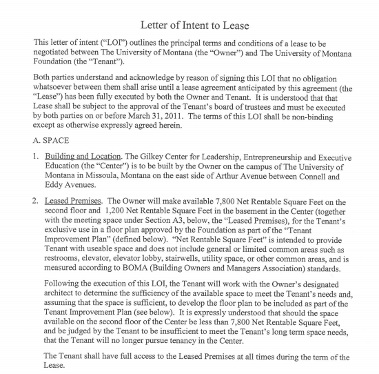 Letter Of Intent To Rent A House from www.wordexcelsample.com