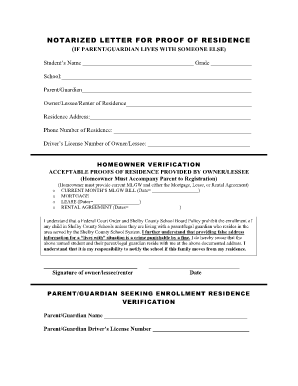 Residency Verification Letter Template from www.wordexcelsample.com