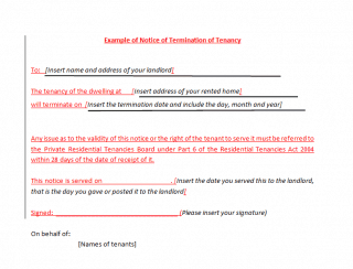 Termination Of Lease Agreement Letter From Tenant from www.wordexcelsample.com