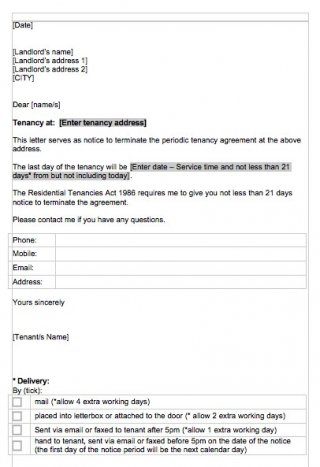 Commercial Lease Early Termination Letter To Landlord from www.wordexcelsample.com