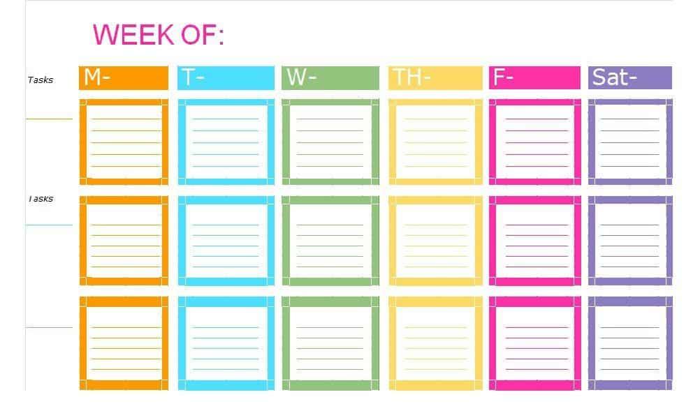 12  checklist templates free