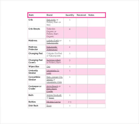 12 Checklist Templates Free Word Excel Templates
